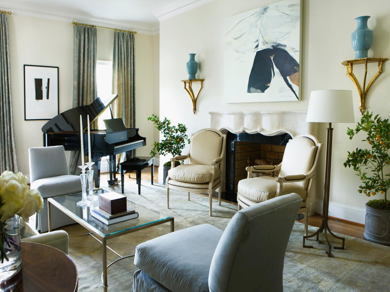 Grand Piano Living Room Design Centerfieldbarcom