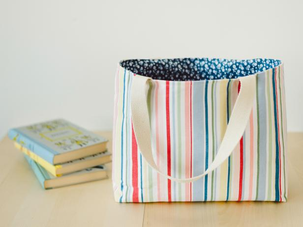 How to Make a Tote Bag: Easy Sew Ideas for a Custom Bag | HGTV