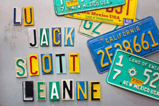 License Plate Magnets