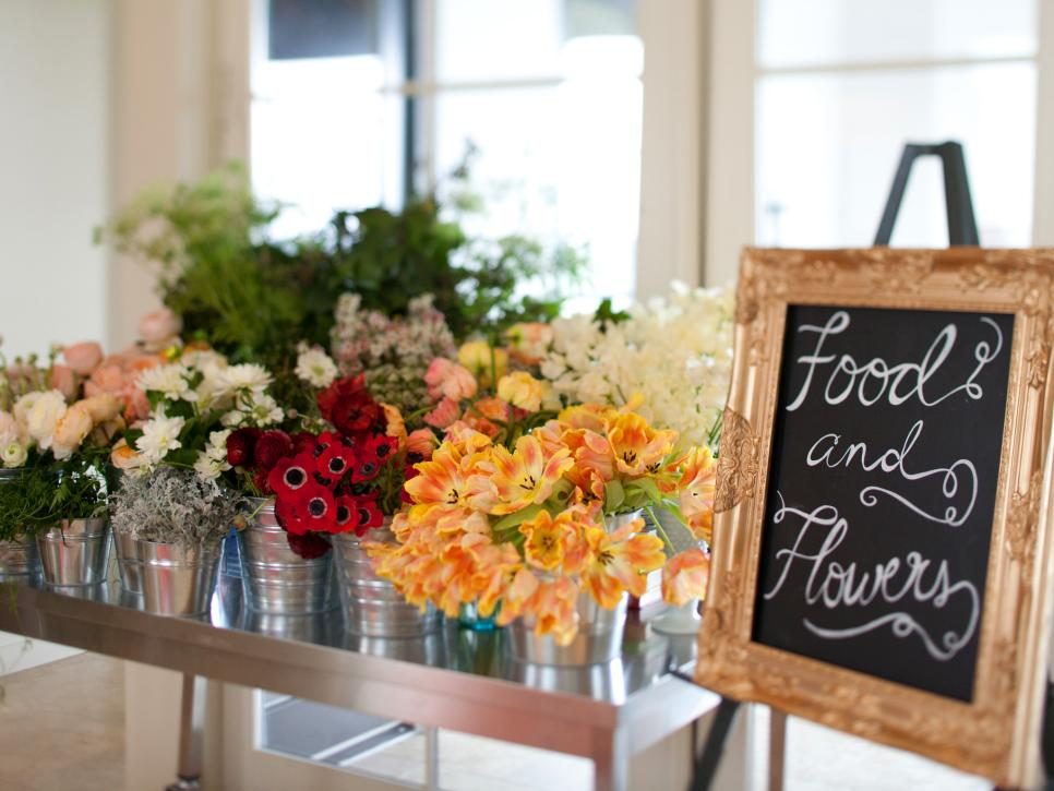 Bridal Shower Idea Flower Arranging Party Hgtv