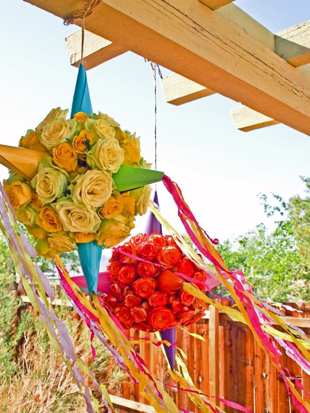 DIY Flower Pinatas