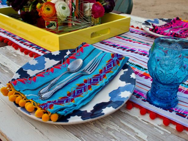 Mexican-Inspired Place Setting