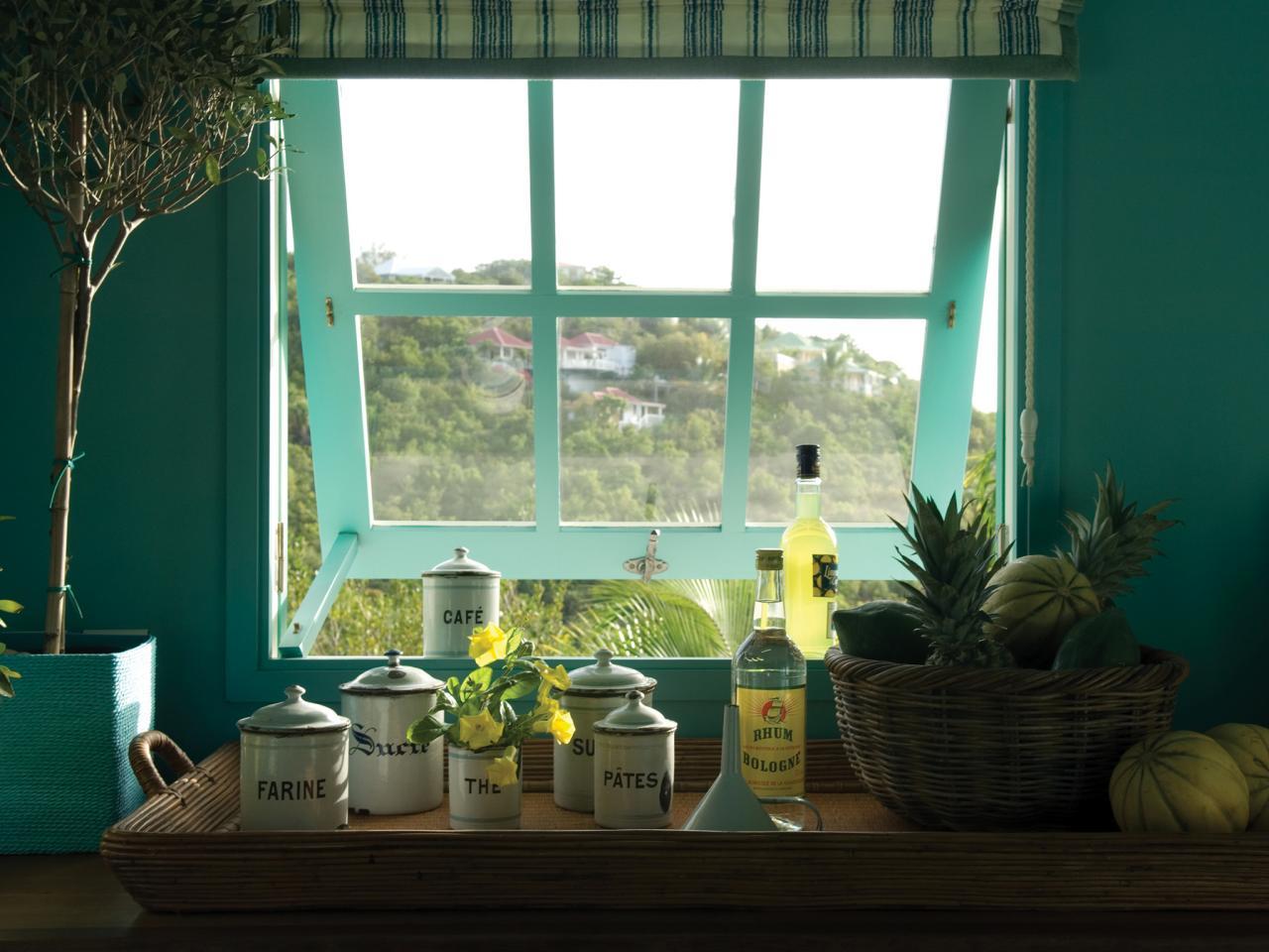 Kitchen Jalousie Windows