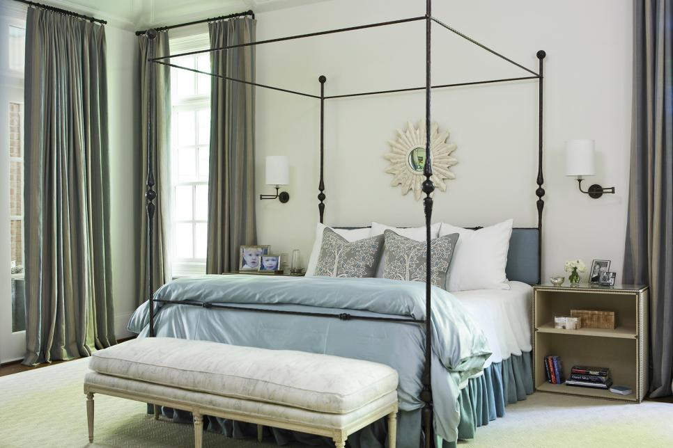 Photo By Photography by Stacy Z Goldberg & Designer Tricks for Living Large in a Small Bedroom | HGTV
