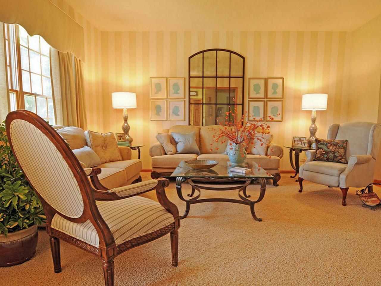 Yellow Living Room Photos  HGTV