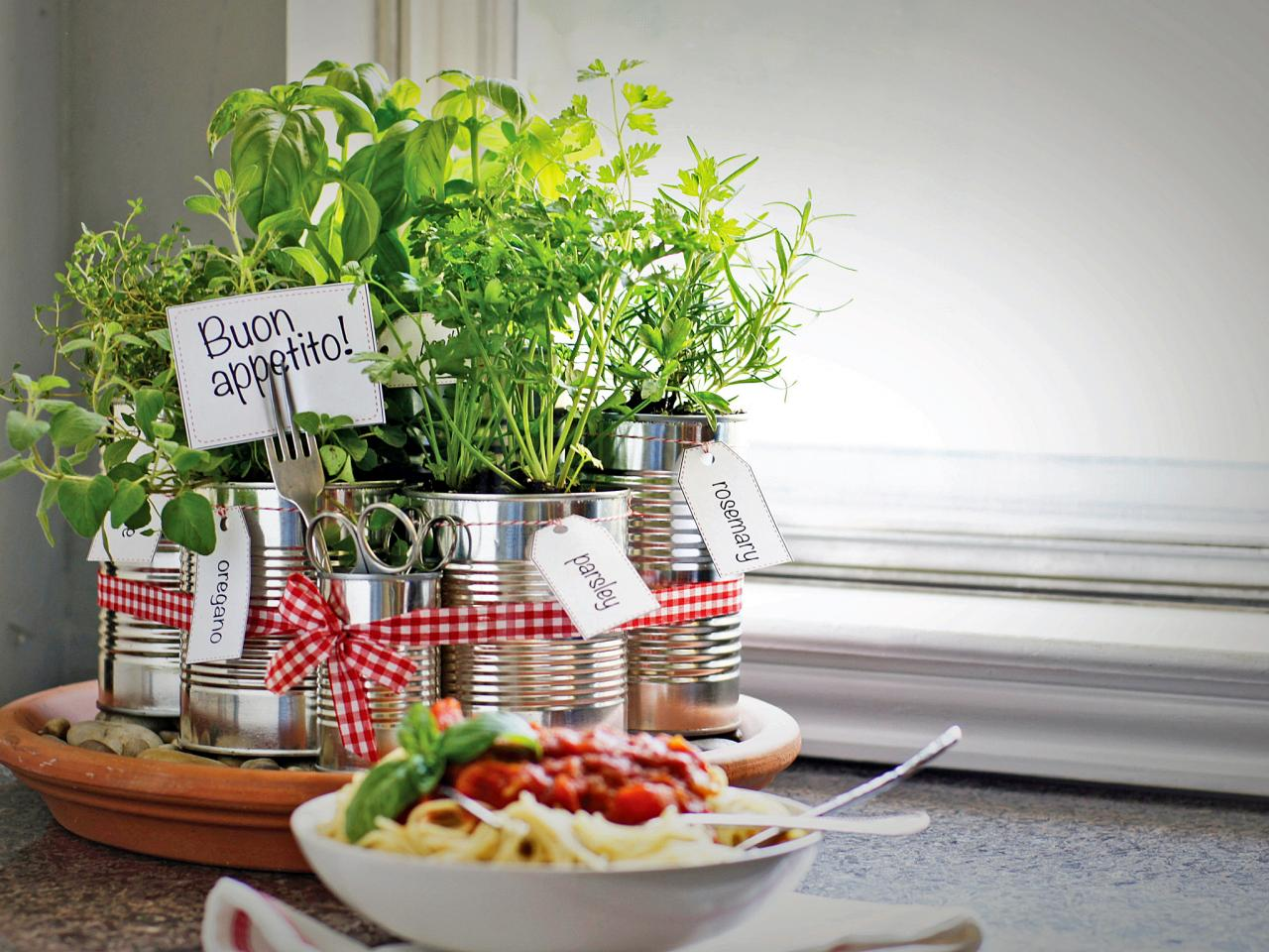 5 indoor herb garden ideas | hgtv's decorating & design blog | hgtv
