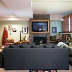Living Room Makeover From HGTV's Renovation Raiders
