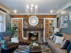 Check out these unique ways to turn a pile of logs into a chic part of your decor.