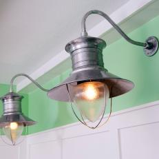 Kitchen Renovation With Farmhouse Sconces