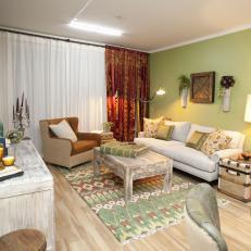 Tropical Living Room Photos | HGTV