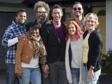 HGTV Star Designers with Host David Bromstad