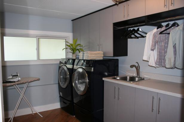 Laundry Room with Ample Storage