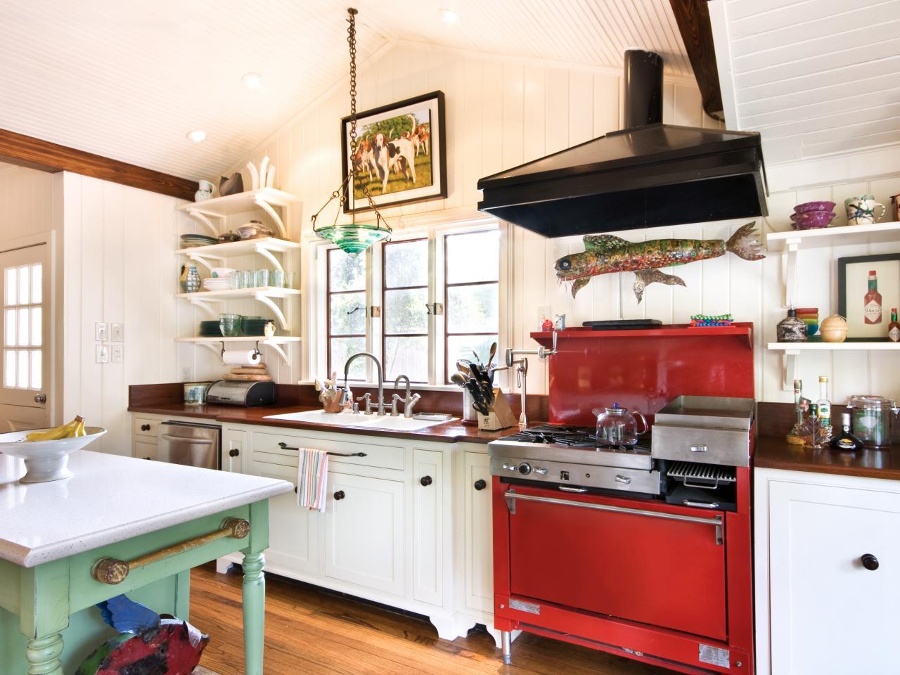 Astonishing Custom Cottage Kitchen Rodney Tassistro Hgtv Home Interior And Landscaping Ologienasavecom