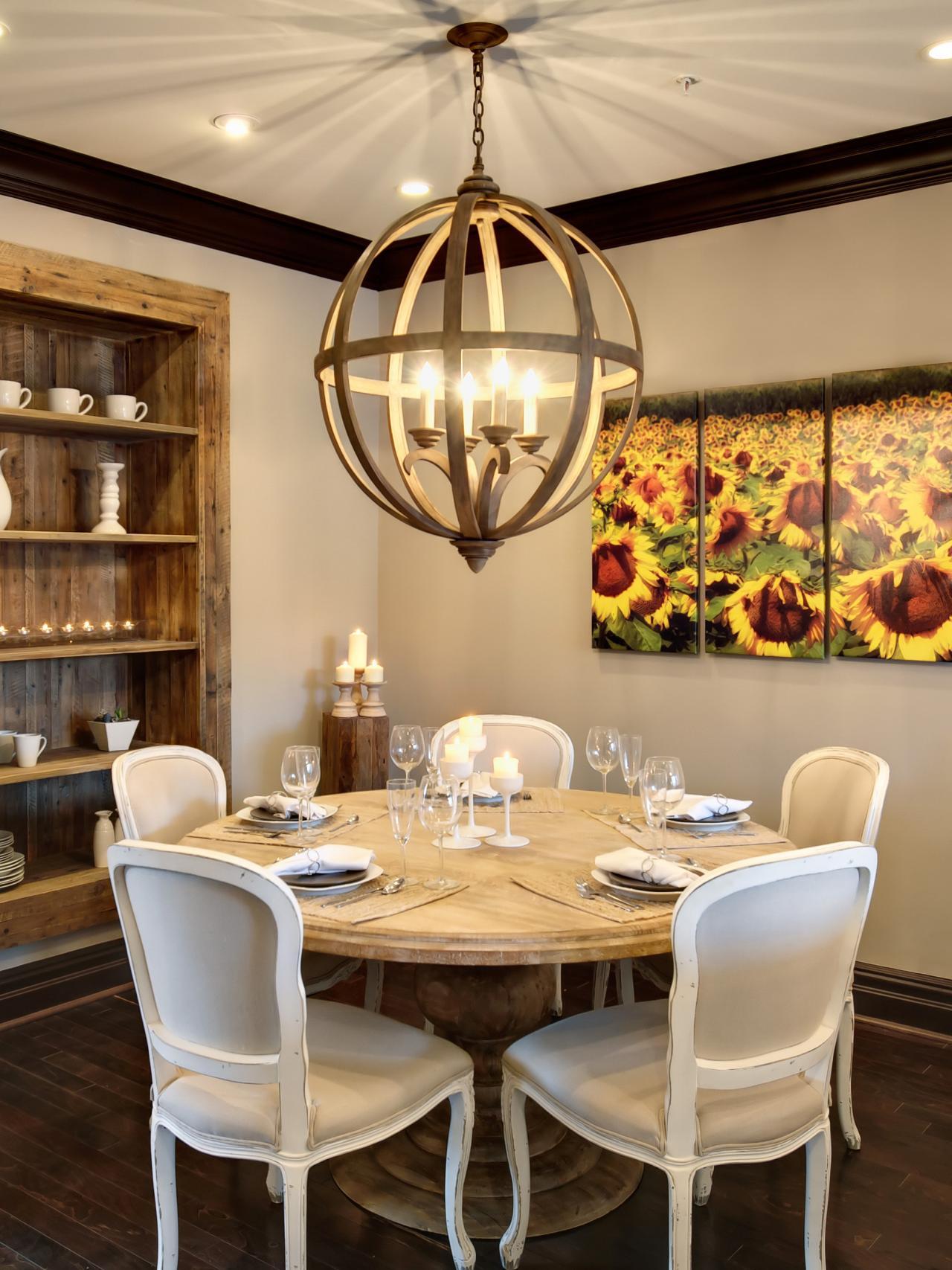 design by ani semerjian - Breakfast Room Lighting