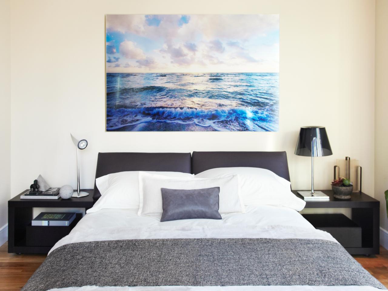 Serene, Minimalist Bedroom | Tara Benet | HGTV