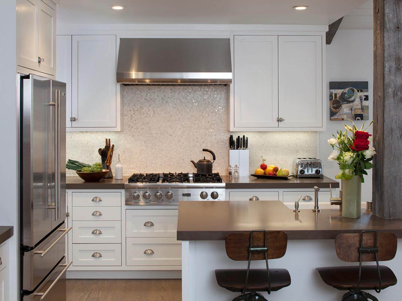 Self-Adhesive Backsplashes: Pictures & Ideas From HGTV | HGTV