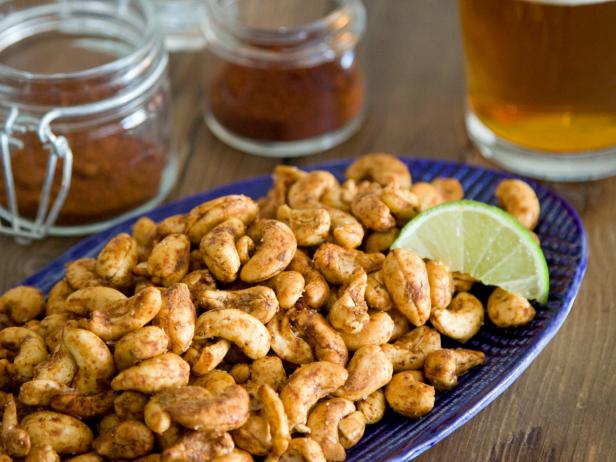 Chili and Lime Roasted Cashews
