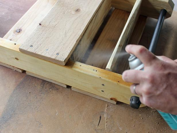 DIY Pallet Toiletry Holder - Step 9: Seal Wood