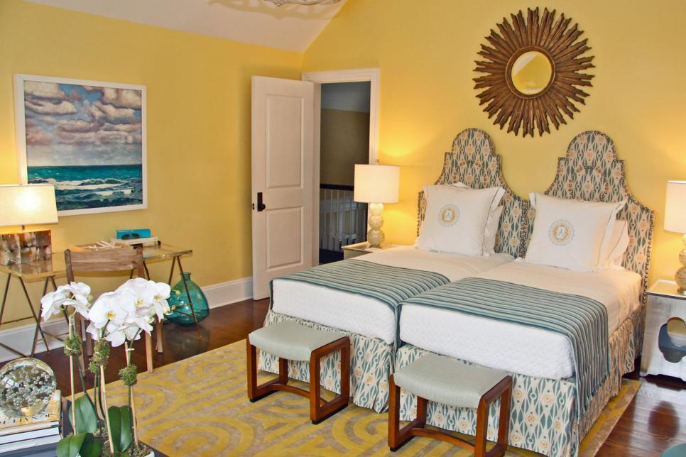 Yellow Bedroom. Photo By  Photography by Thomas Kuoh 15 Cheery Yellow Bedrooms HGTV