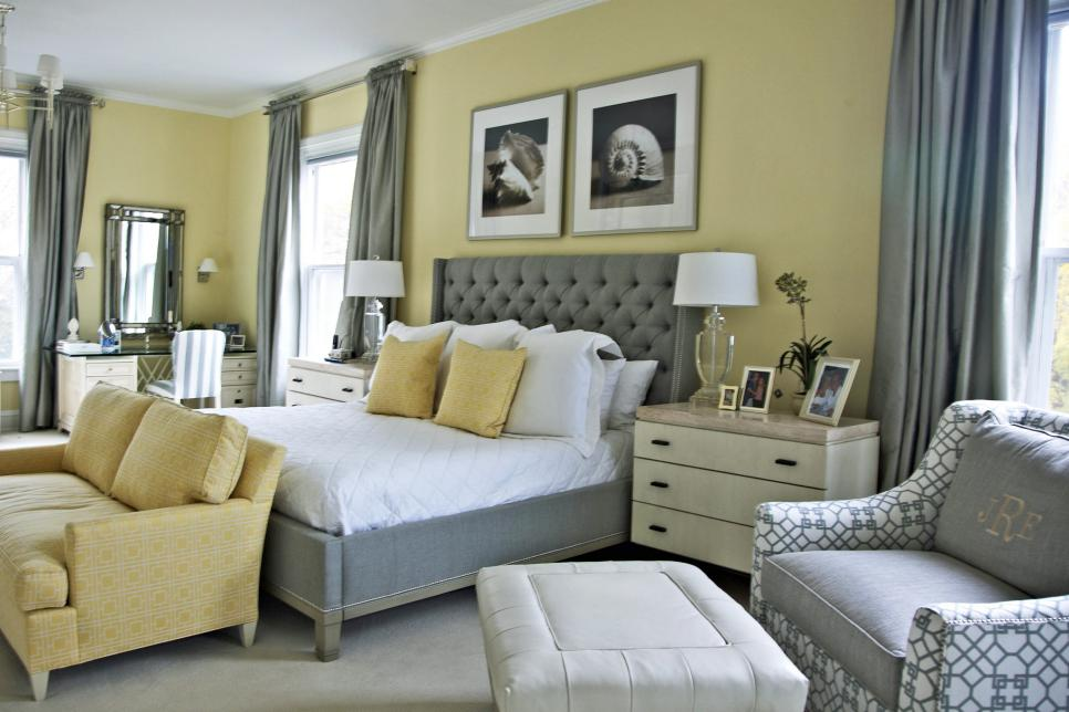 Yellow Bedroom. Photo By  Photography by Noel Sutherland 15 Cheery Yellow Bedrooms HGTV