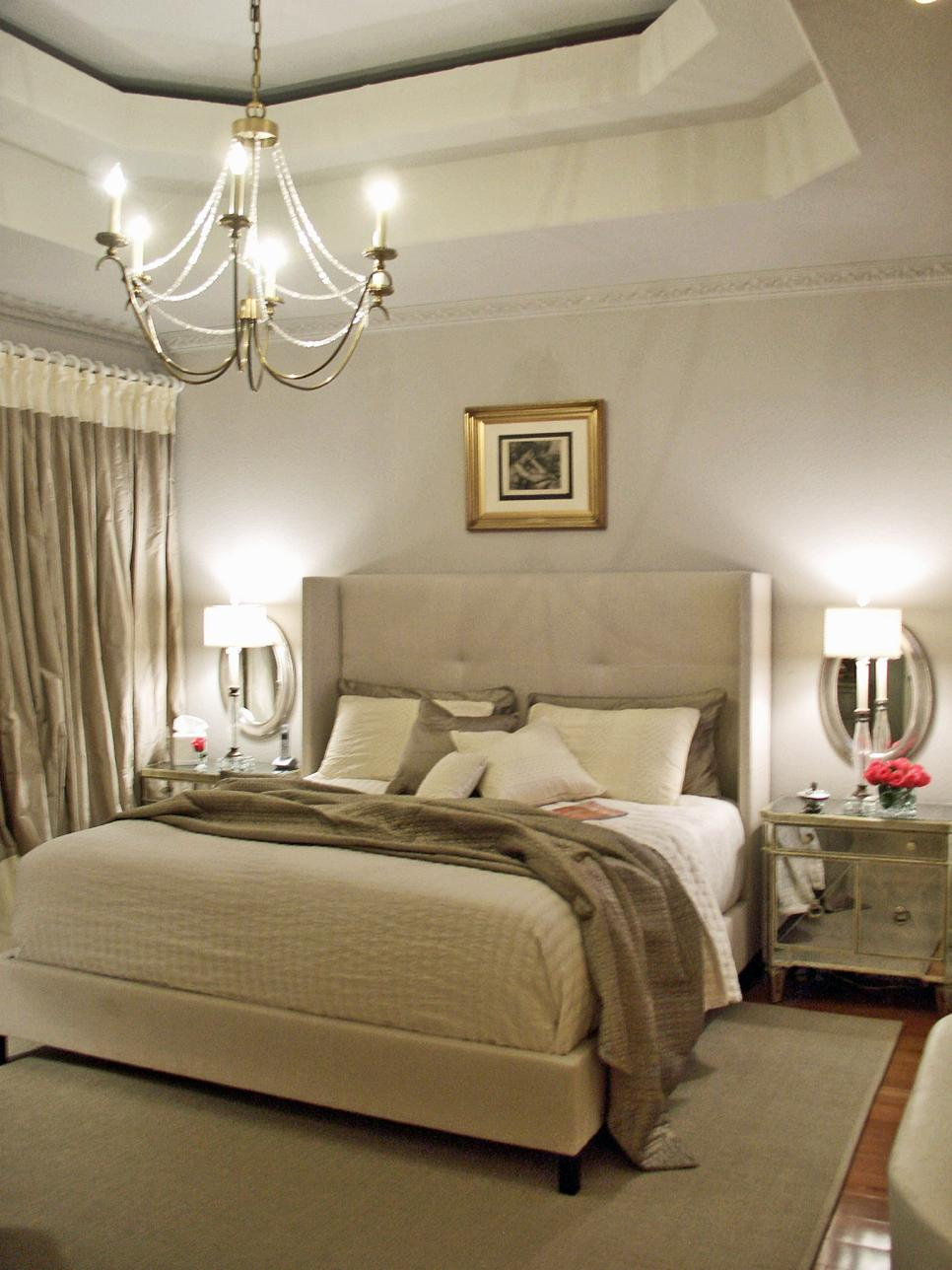Neutral Sophisticated Bedroom
