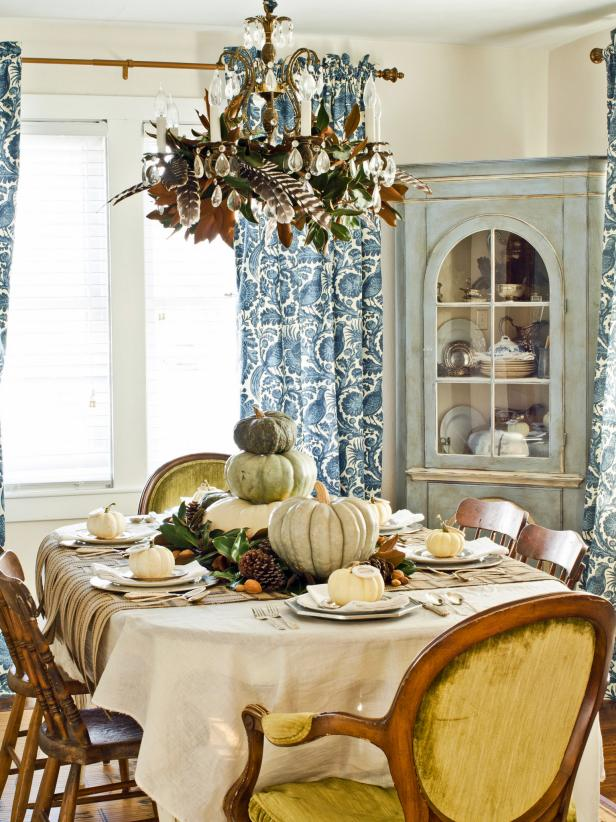 13 rustic thanksgiving table setting ideas hgtv - Dining table setting ideas ...