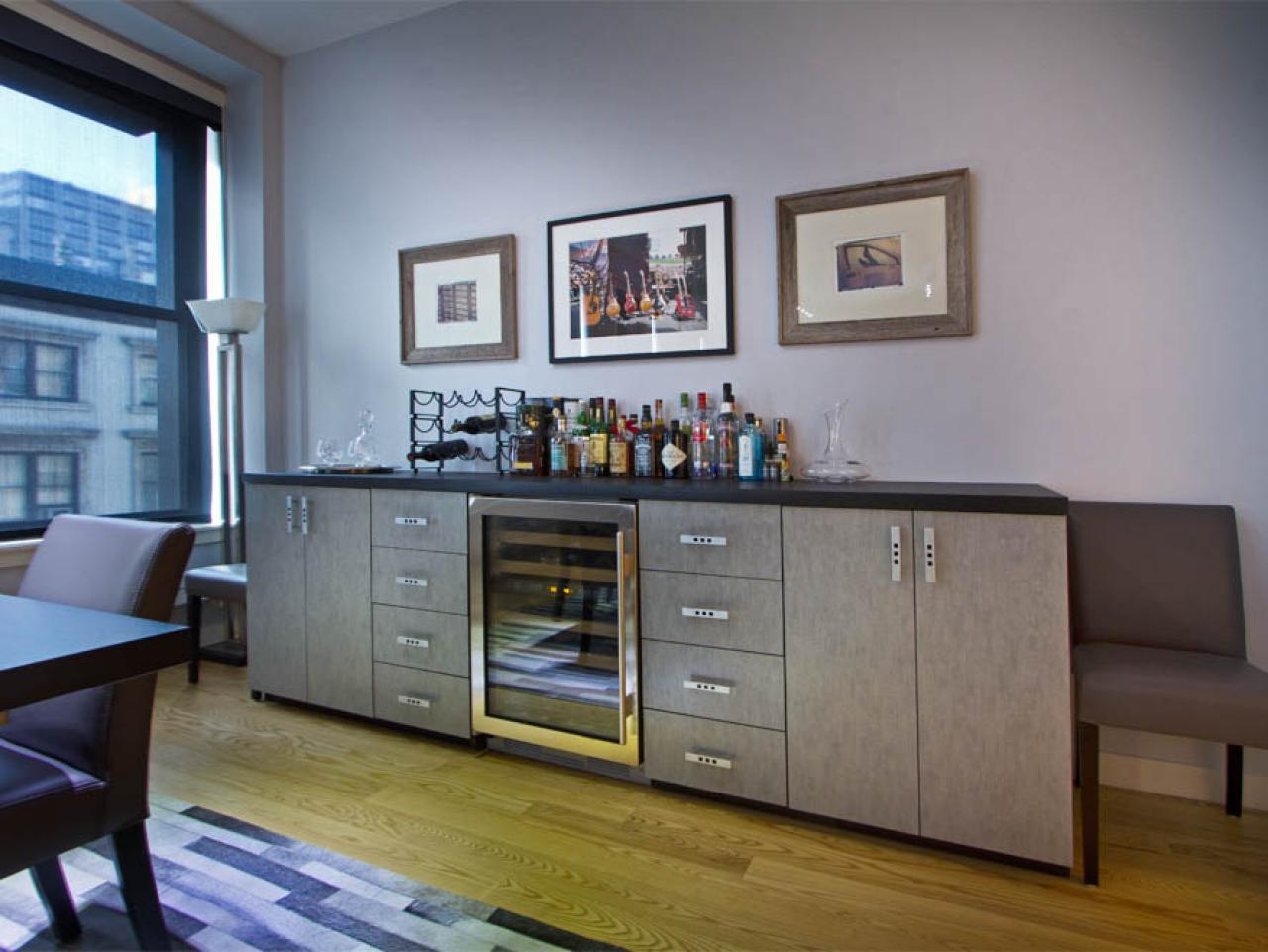 Fabulous Buffet With Built In Wine Cooler | Shapeyourminds.com EL71