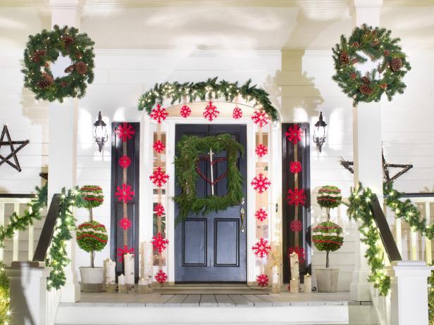 15 Diy Outdoor Holiday Decorating Ideas Hgtv 39 S Decorating Design Blog Hgtv