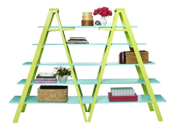Ladders as Shelves