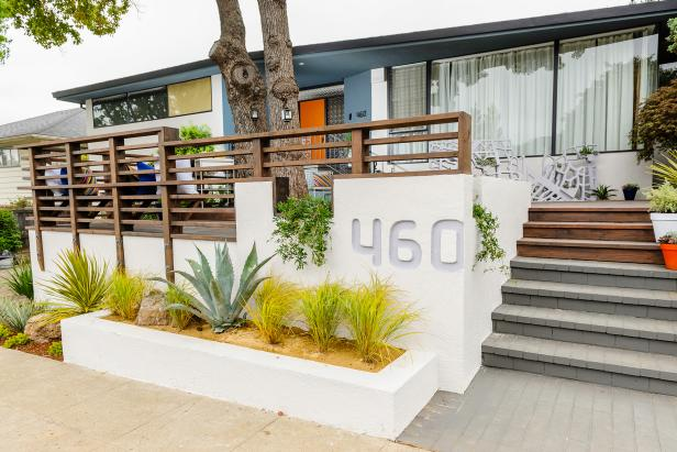 Modern Exterior With Potted Plants