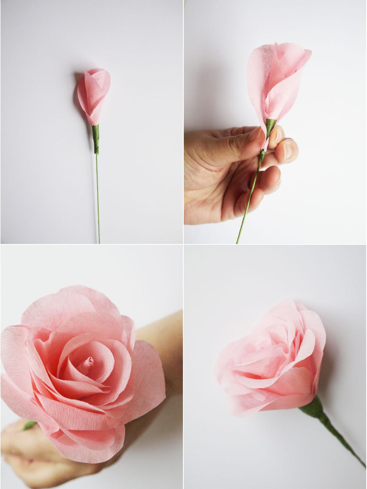 How to make paper flowers for a wedding bouquet hgtv add petals and create more flowers izmirmasajfo