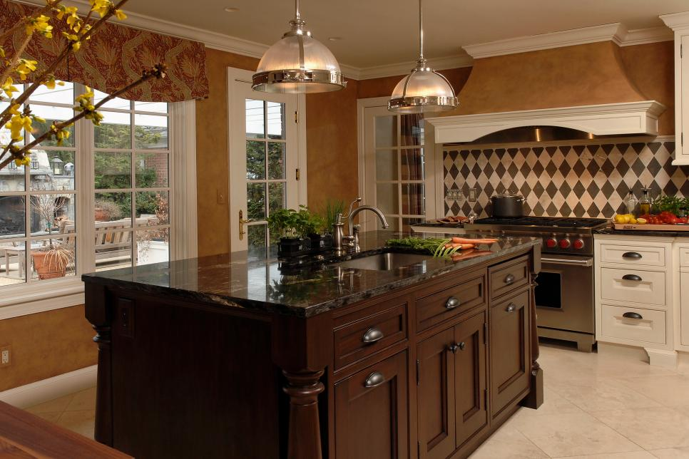 pictures of kitchen designs with islands pictures of beautiful kitchen designs amp layouts from hgtv 27377
