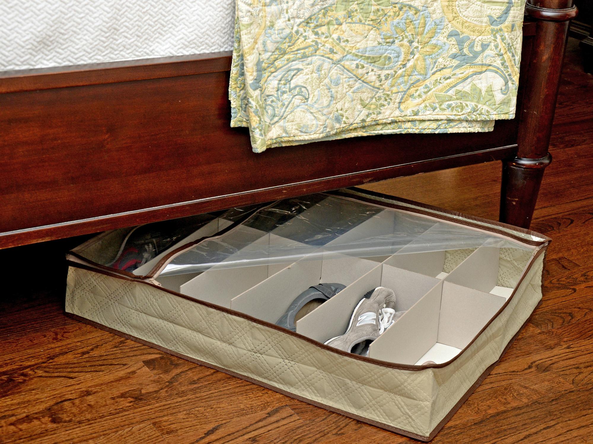 Under-Bed Organizer Under The Bed Storage Bag Box Clothes Blankets Space Saver