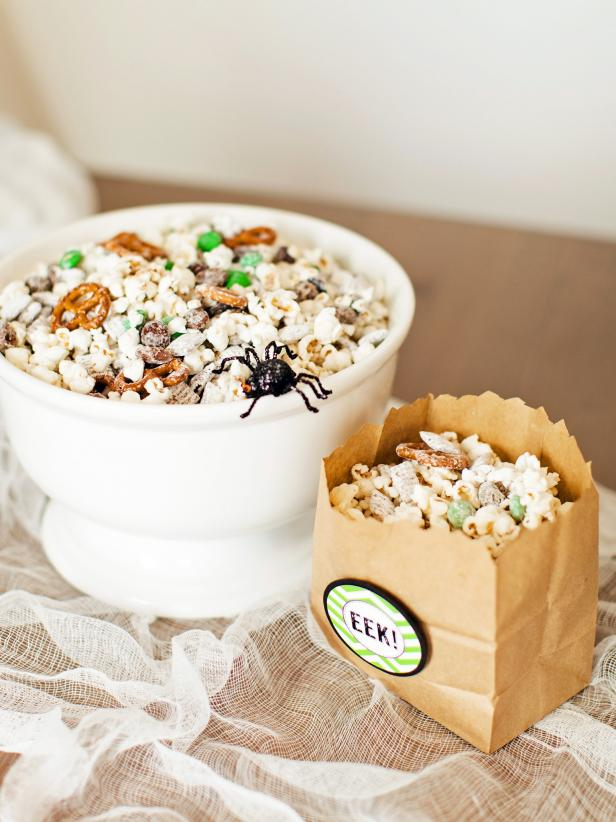 Sweet and Salty Halloween Snack Mix