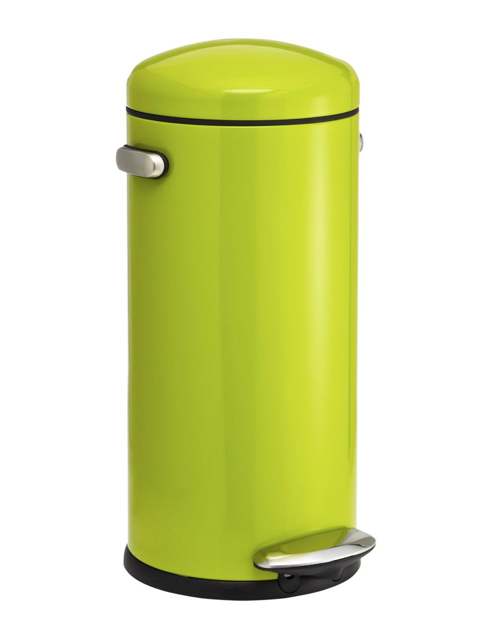 Neon Green Trash Can