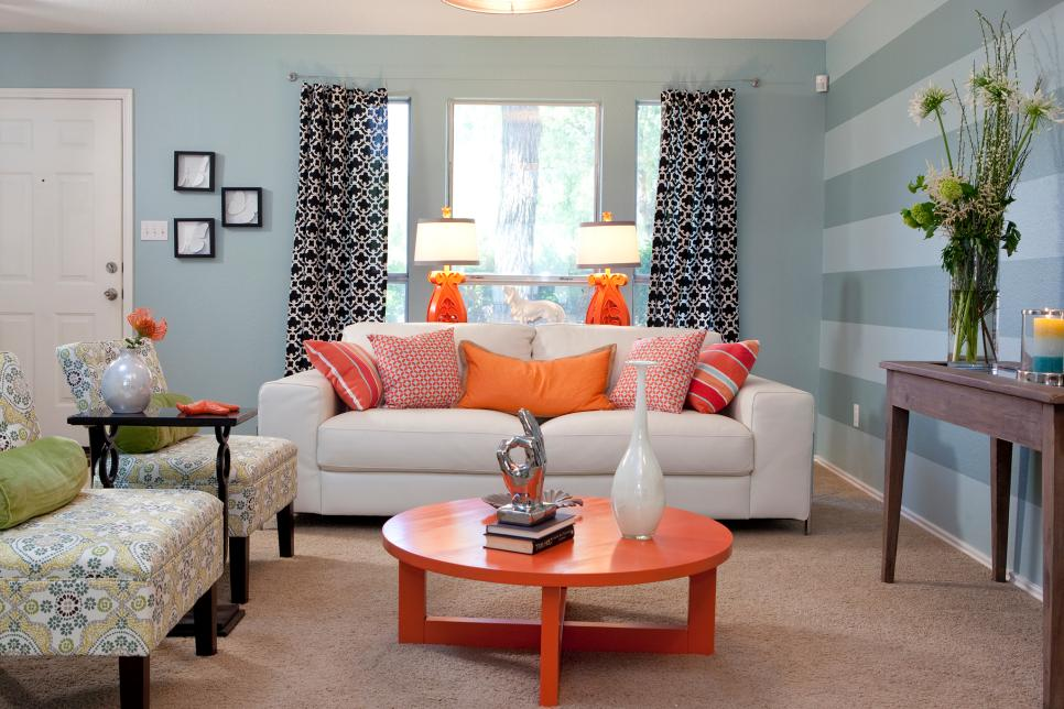 151 Striped Accent Wall Photos
