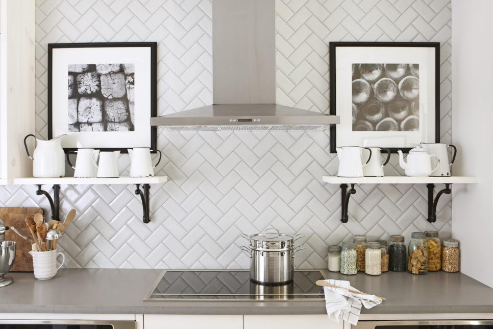 Attractive Backsplash Subway Tile Ideas Part - 5: Photo By: Stacey Brandford