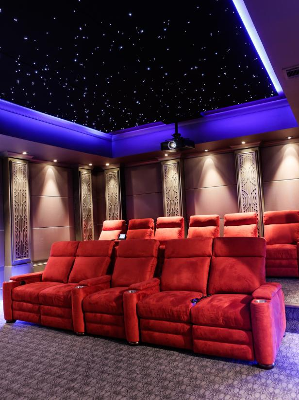 Home Theater Design Tips - Ideas for Home Theater Design | HGTV