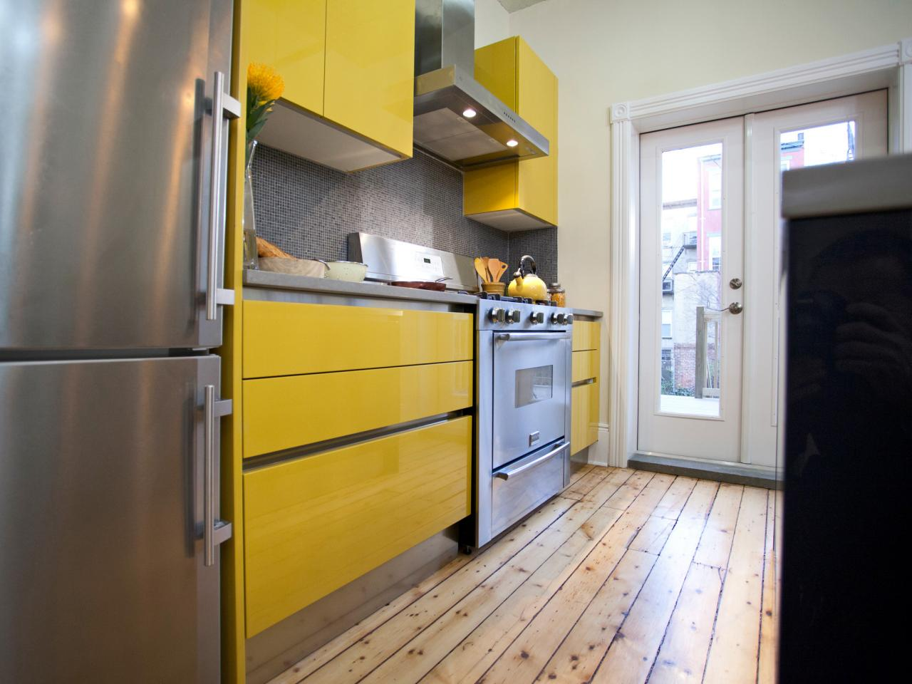 Yellow Kitchen Cabinets: Pictures, Ideas & Tips From HGTV | HGTV