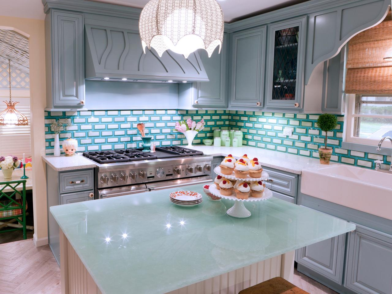Glass Kitchen Countertops: Pictures & Ideas From HGTV | HGTV