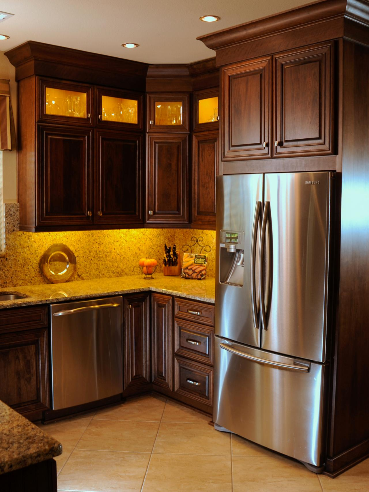brown colored kitchen appliances photo page hgtv 4935