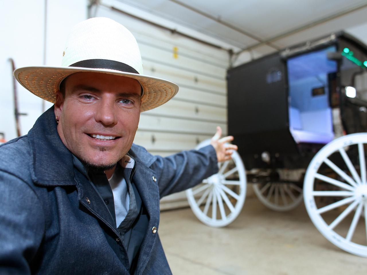 Vanilla Ice Goes Amish Hgtv