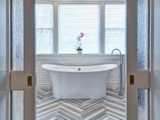 Eclectic, Elegant Bathroom Remodel