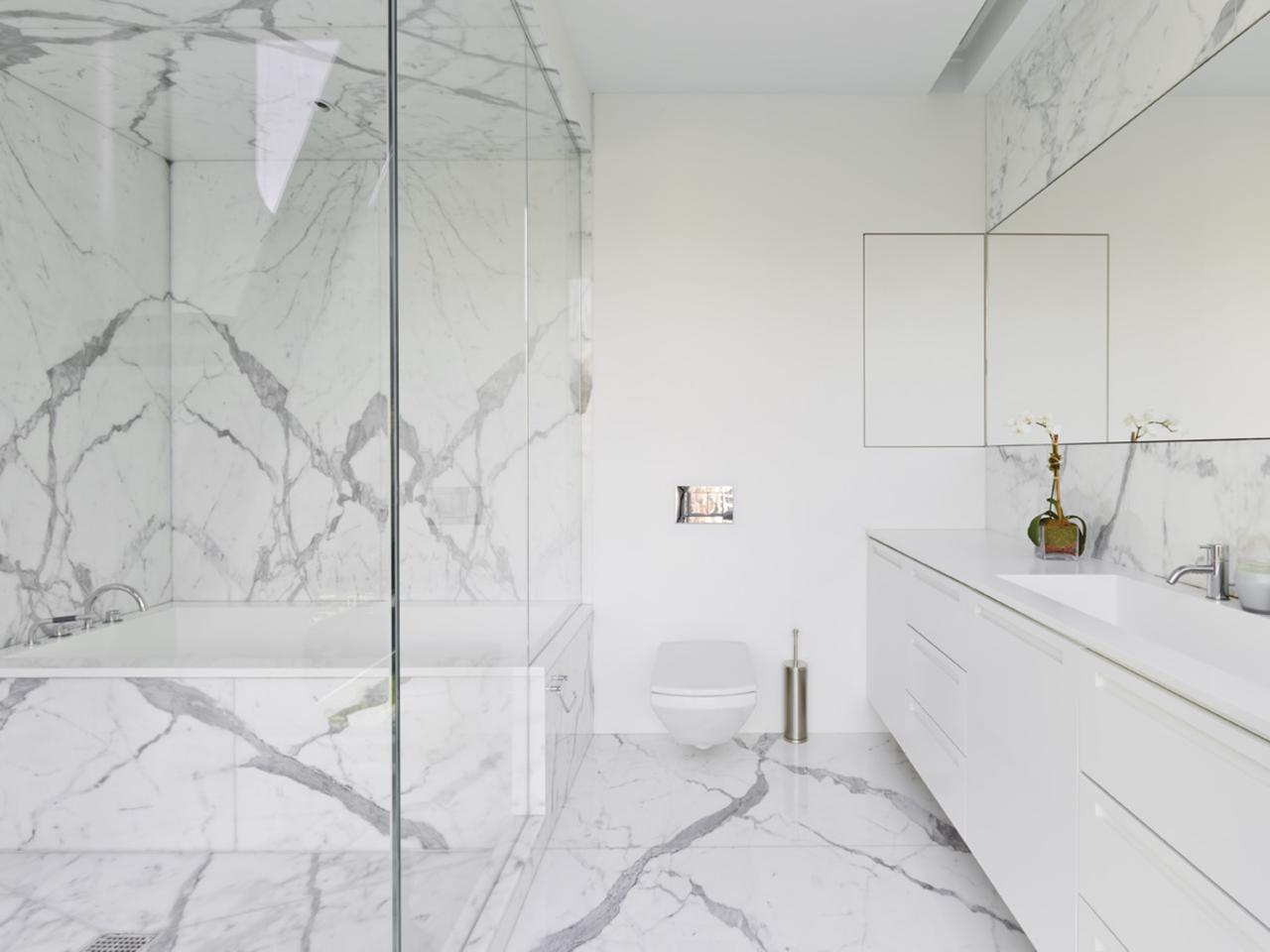 Marble Bathrooms We\'re Swooning Over | HGTV\'s Decorating & Design ...