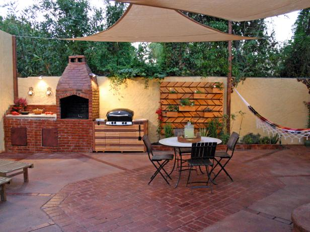 Small Outdoor Kitchen Ideas: Pictures & Tips From HGTV | HGTV on