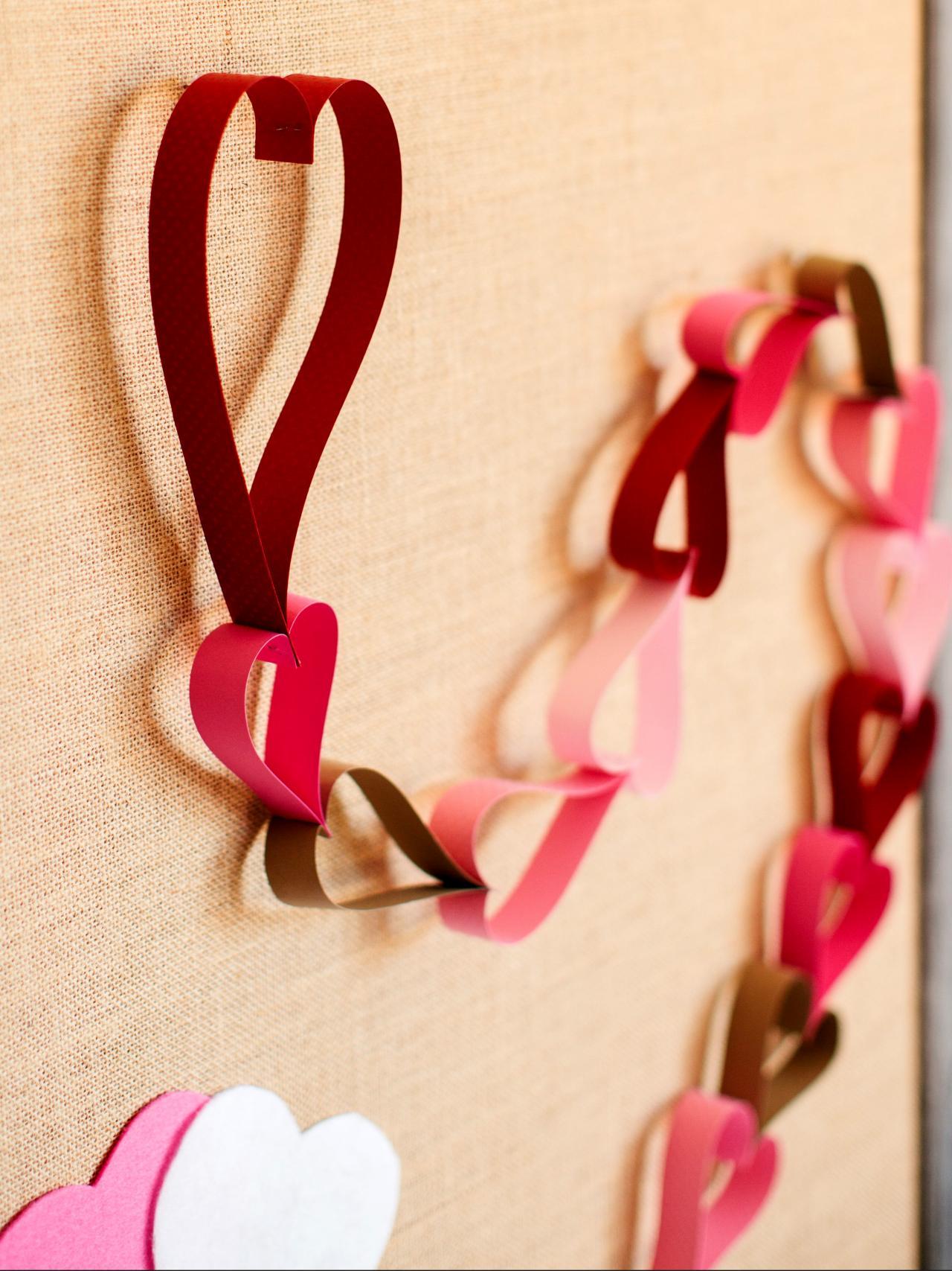 Paper Chain Valentine S Day