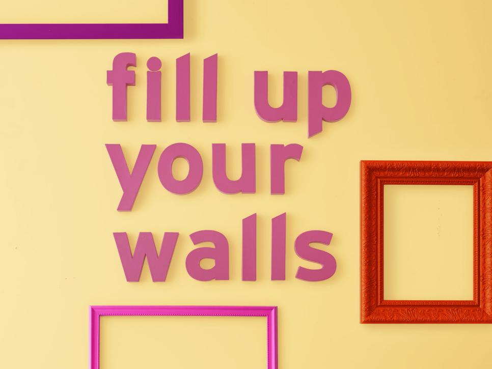 7 Ways to Fill Up Your Walls | HGTV