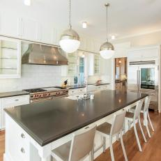 Eat-In Kitchen with Island Seating