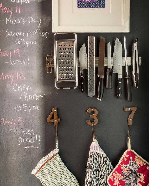 Kitchen with Chalkboard Paint