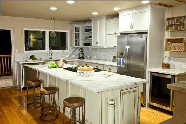 Open Kitchen with New Appiances